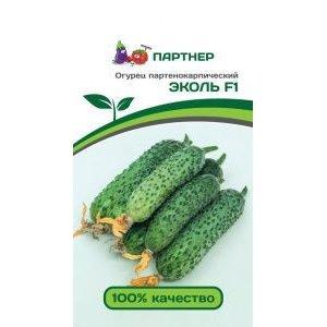 Семена Партнер огурец ЭКОЛЬ F1, 5 сем.