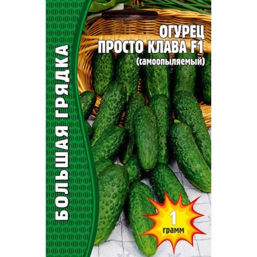 Семена Огурец Просто Клава F1, 1 гр.