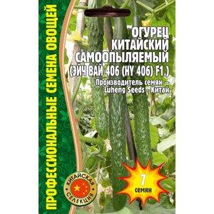 Семена Огурец Китайский Самоопыляемый Эйч Вай 406 F1, 7 сем.