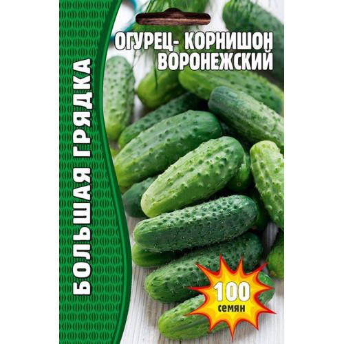 Семена огурец корнишон Воронежский, 100 сем.