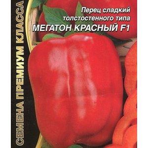 Семена Перец сладкий МЕГАТОН КРАСНЫЙ F1