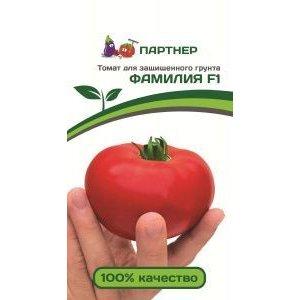 Семена Партнер томат Фамилия F1, 10 сем