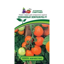 Семена томат Партнер черри Оранжевый Земледелец F1, 0.1