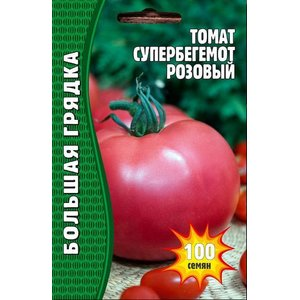 Семена томат Супер Бегемот Розовый, 100 сем.