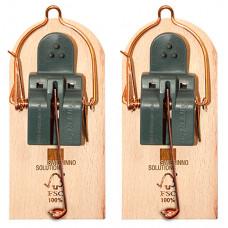 Мышеловка SuperCat на деревянной основе, 2шт