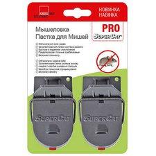 Мышеловка SuperCat PRO (Супер Кэт) с приманкой, 2 шт.