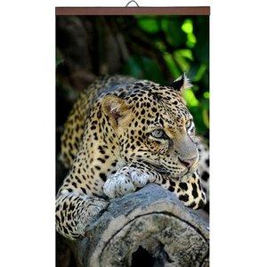 Обогреватель картина Леопард