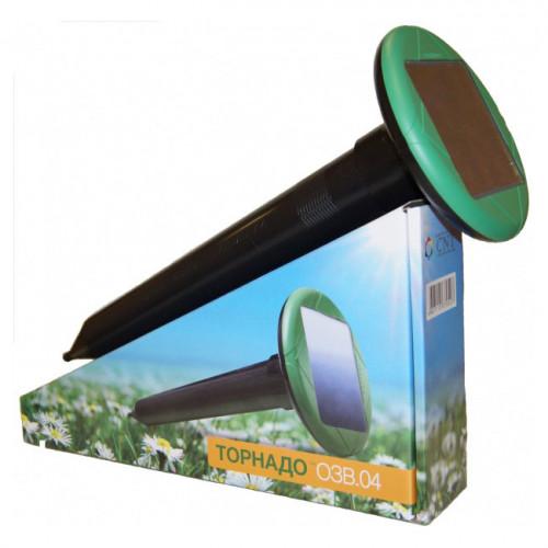 Торнадо ОЗВ.04 отпугиватель кротов и змей на солнечной батарее вибрационный