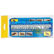 Блокбастер клеевая ловушка-домик с приманкой от тараканов и домашних муравьев, 1шт