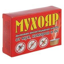 МУХОЯР - дымовое инсектицидное средство от мух, комаров, ос. 50г