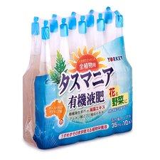 Японское удобрение Тасмания Укрепляющее для всех видов цветов и овощей. 10шт/35мл