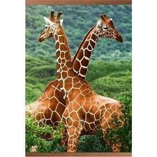 Гибкий пленочный обогреватель-картина Жирафы