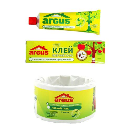 Набор №10 Ловчий пояс Arus + клей ловчий пояс Argus