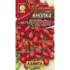 Семена Томат КНОПКА (скороспелый, детерминантный, плод до 40 г, открытый грунт)