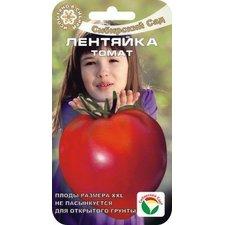 Семена Томат Лентяйка (низкорослый крупноплодный, плод до 600 г, открытый грунт, 20 шт.)