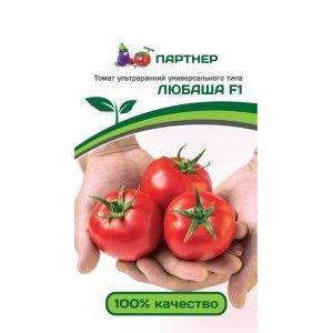 Семена Партнер Томат ЛЮБАША F1 (0,05 г) 2-ной пак