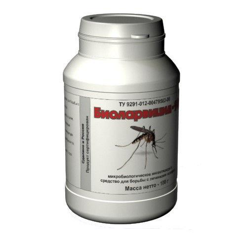 """Уничтожитель личинок комаров биологический """"Биоларвицид-100"""""""